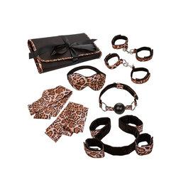 Výhodné BDSM sety - BDSM Surrender set leopard - s14330