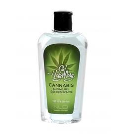 BIO a Vegan lubrikační gely - NUEI Oh! Holy Mary Hřejivý lubrikační gel s konopím 100 ml - shmNU51349