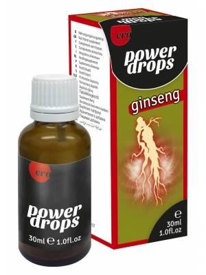 Zvýšení libida - Hot Power Ginseng kapky 30 ml - Doplněk stravy - s90334