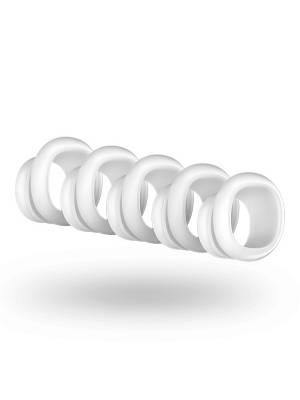 Tlakové stimulátory na klitoris - Satisfyer Pro Penguin Next Generation Náhradní hlavice 5 ks - E27996